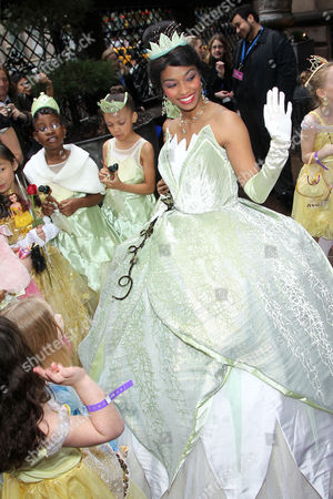 Editorial image of 'The Princess and the Frog' DVD release party and coronation at The Palace Hotel, New York, America - 14 Mar 2010