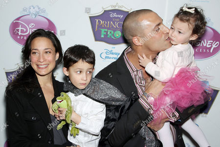 Nigel Barker, wife Crissy, son Jack and daughter Jasmine