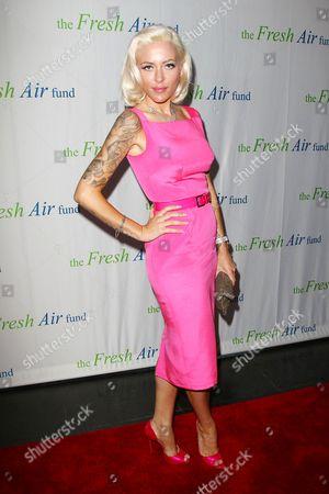Editorial image of Fresh Air Fund Gala, New York, America - 30 May 2013
