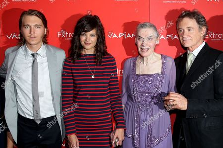 Stock Picture of Paul Dano, Katie Holmes, Marian Seldes and Kevin Kline