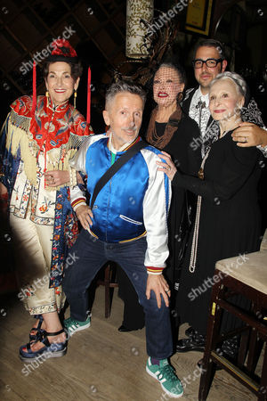 Editorial photo of Celebration of Documentary Film 'Advanced Style' hosted by Simon Doonan at City Winery , Manhattan, New York, America - 22 Sep 2014