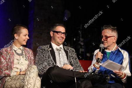 Lina Plioplyte (Director), Ari Cohen and Simon Doonan