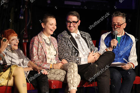 Ilona Smithkin, Lina Plioplyte (Director), Ari Cohen and Simon Doonan