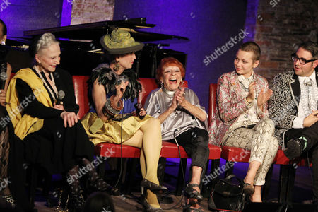 Editorial picture of Celebration of Documentary Film 'Advanced Style' hosted by Simon Doonan at City Winery , Manhattan, New York, America - 22 Sep 2014