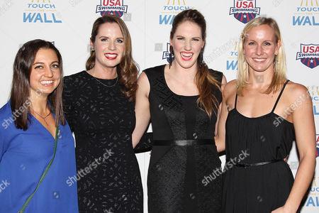 Rebecca Soni, Kara Lynn Joyce, Missy Franklin and Jessica Hardy