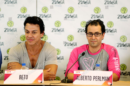 Beto Perez (Zumba Creator, Co-Founder) and Alberto Perlman (CO-Founder)