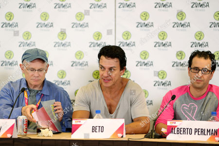 Bill Roedy, Beto Perez (Zumba Creator, Co-Founder) and Alberto Perlman (CO-Founder Zumba)