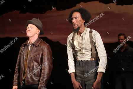 Alex Morf and Ron Cephas Jones