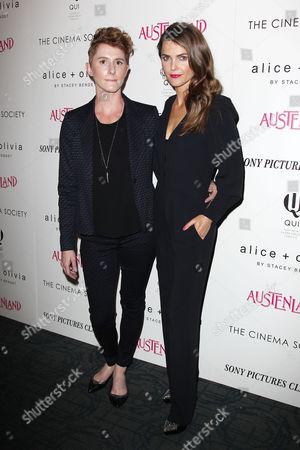 Jerusha Hess and Keri Russell