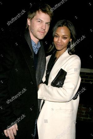Zoe Saldana and Keith Britton (husband)