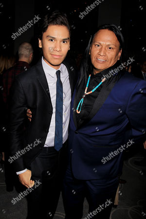 Forrest Goodluck and Arthur Redcloud
