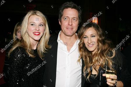 Kim Shaw, Hugh Grant and Sarah Jessica Parker