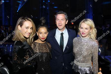 Maggie Q, Zoe Kravitz, Erik Feig (Co-Chair Lionsgate), Naomi Watts