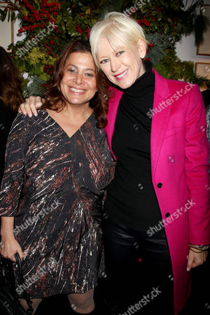 Stock Picture of Meryl Poster and Joanna Coles