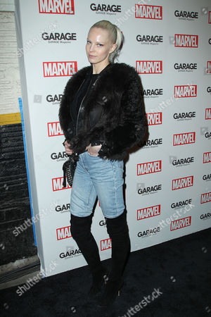 Editorial picture of Garage Magazine Marvel issue launch party, New York, America - 11 Feb 2016