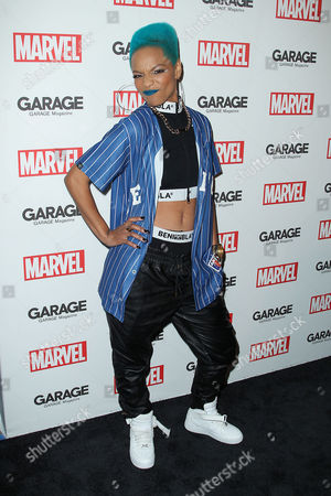 Editorial image of Garage Magazine Marvel issue launch party, New York, America - 11 Feb 2016