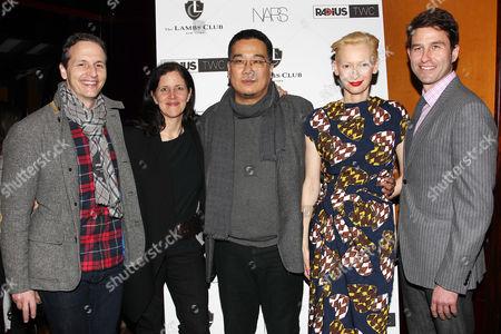 Tom Quinn, Laura Poitras (Director; Citizen Four), Bong Joon-Ho (Director; Snowpiercer), Tilda Swinton, Jason Janego