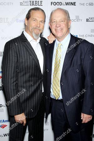 Stock Photo of Jeff Bridges, Bill Shore