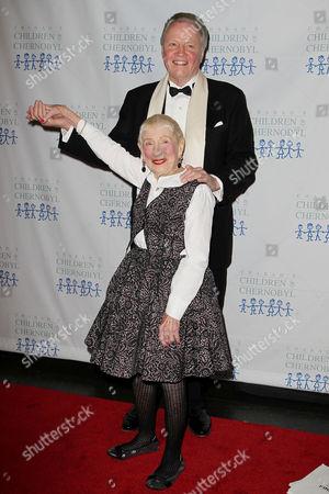 Stock Image of Jon Voight and Leah Adler