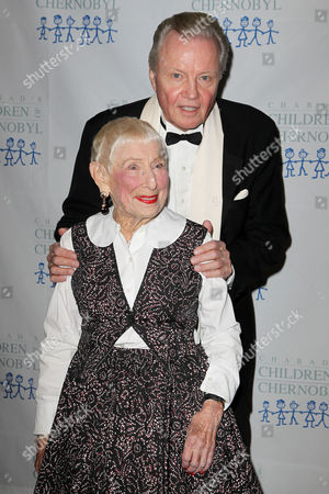 Jon Voight and Leah Adler