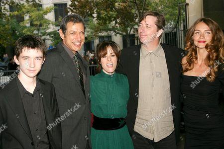 Liam Aiken, Jeff Goldblum, Parker Posey, Hal Hartley and Saffron Burrows