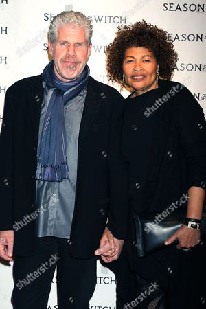 Ron Perlman with Opal Perlman (wife)