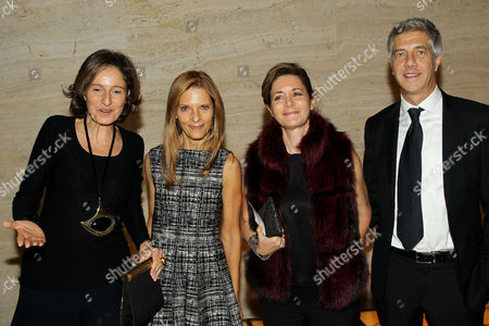 Stock Picture of Dorothy Berwin (Exec. Producer) with Guests