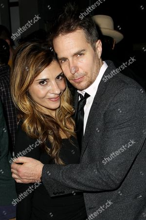 Callie Thorne and Sam Rockwell