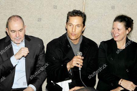 Terence Winter, Matthew McConaughey, Emma Koskoff