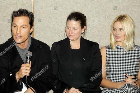 Matthew McConaughey, Emma Koskoff, Margot Robbie