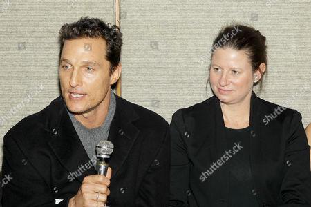 Matthew McConaughey, Emma Koskoff