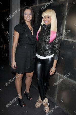 Juliya Chernetsky and Nicki Minaj