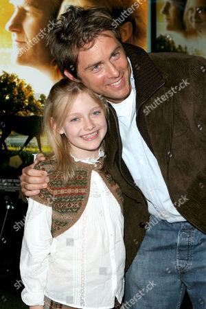 Dakota Fanning and John Gatins
