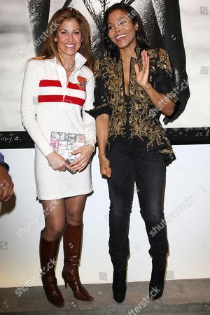 Dylan Lauren and Janet Jackson