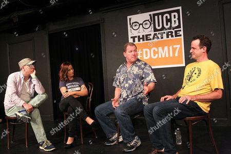 Stock Photo of Matt Walsh, Amy Poehler, Ian Roberts, Matt Besser