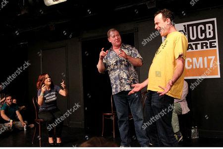 Amy Poehler, Matt Walsh, Ian Roberts and Matt Besser