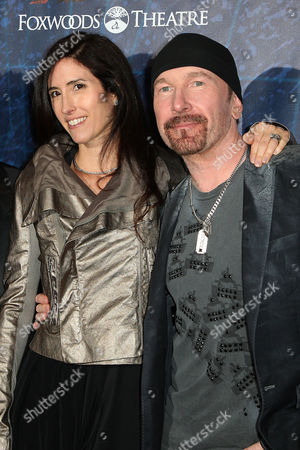 The Edge and wife Morleigh Steinberg