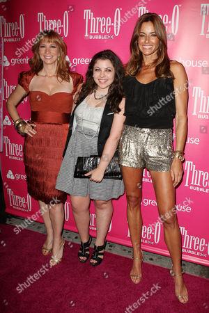 Jill Zarin, Ally Shapiro (daughter) and Kelly Killoren Bensimon