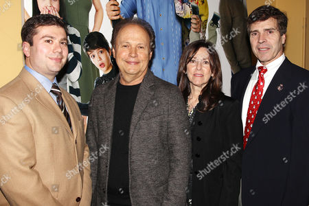Stock Picture of Jack Schnirman, Billy Crystal, Janice Crystal and Alan Beach