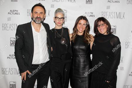 Editorial photo of 'Breastmilk' film premiere, New York, America - 07 May 2014