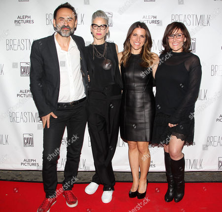 Stock Picture of Nikola Duravcevic, Dana Ben-Ari (Director), Abby Epstein and Ricki Lake (Exec. Producers)