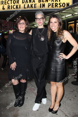 Stock Photo of Ricki Lake, Dana Ben-Ari and Abby Epstein