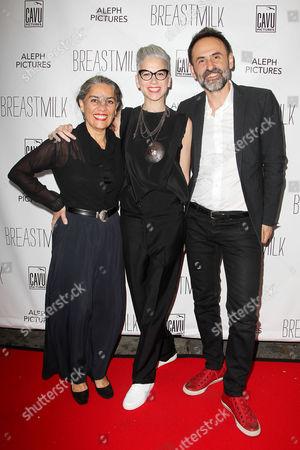 Tania Cypriano, Dana Ben-Ari (Director) and Nikola Duravcevic