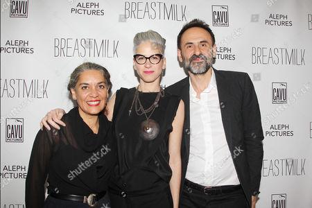 Tania Cypriano, Dana Ben-Ari and Nikola Duravcevic