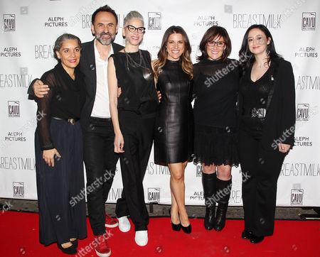 Editorial image of 'Breastmilk' film premiere, New York, America - 07 May 2014