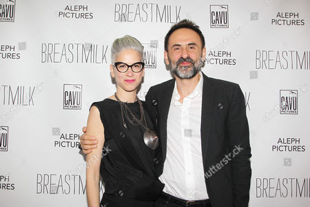 Editorial picture of 'Breastmilk' film premiere, New York, America - 07 May 2014