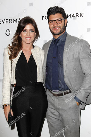 Stock Picture of Chloe Melas and Brian Mazza