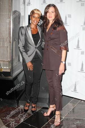 Mary J. Blige and Daniella Vitale (Gucci America President)