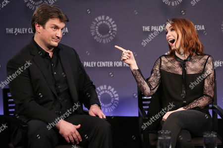 Nathan Fillion and Felicia Day