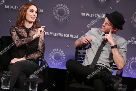 Felicia Day and Neil Patrick Harris